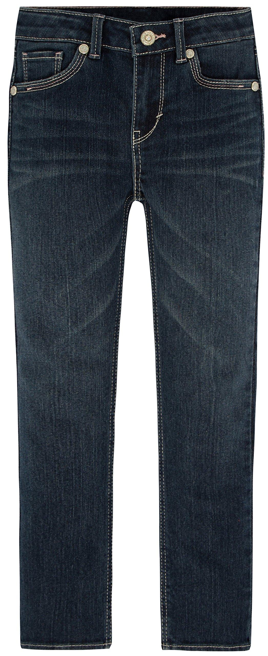 Levi's Girls' 711 Skinny Fit Jeans , Trinity, 6X