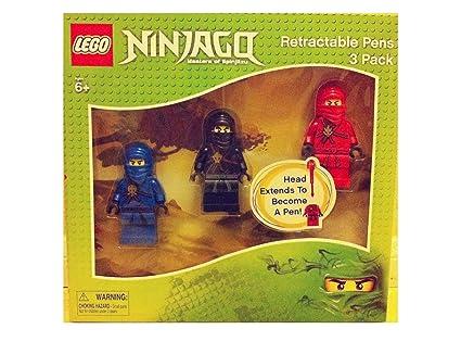 Amazon.com: LEGO Ninjago retráctil – paquete de 3: Toys & Games