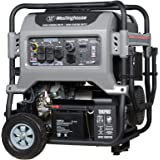 Westinghouse 10KPRO Gas Powered Portable Generator with Remote Electric Start - 10000 Running Watts and 12500 Starting Watts - CARB Compliant