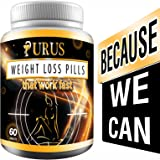 URUS - Weight Loss Pills that Work Fast for Women, Diet Pills, Fat Burner, Carb Block & Appetite Suppressant
