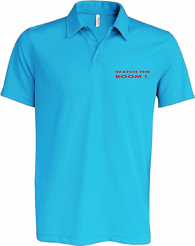 Sailmore UK Camisa de Polo para Hombre, Color Azul Azul, Vela ...