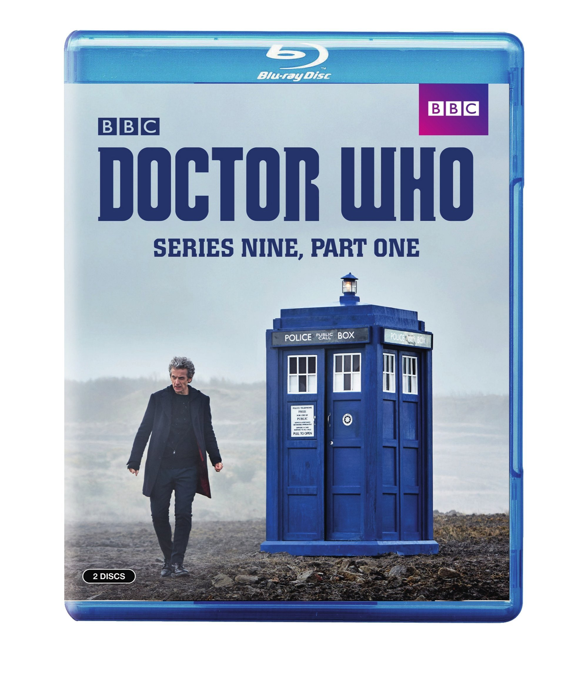 Blu-ray : Doctor Who: Series Nine, Part One (Amaray Case)