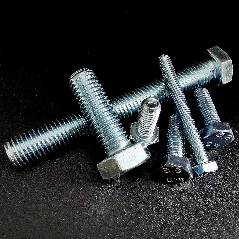 DIN 933 Sechskantschrauben verzinkt ISO 4017 Maschinen Schrauben M 6 8 10 12 16 25, M10 x 35