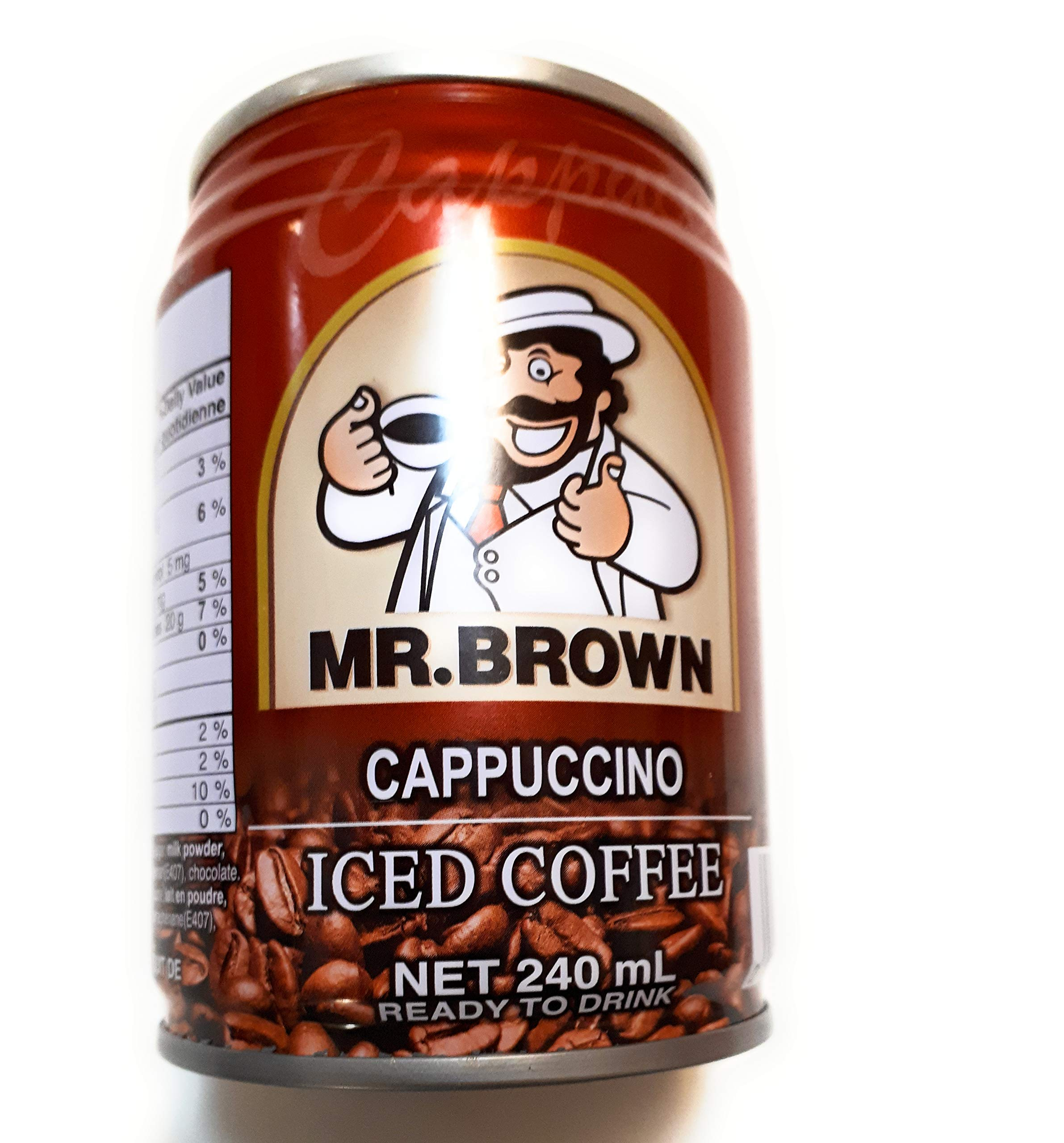 Mr. Brown Iced Coffee (Cappuccino)