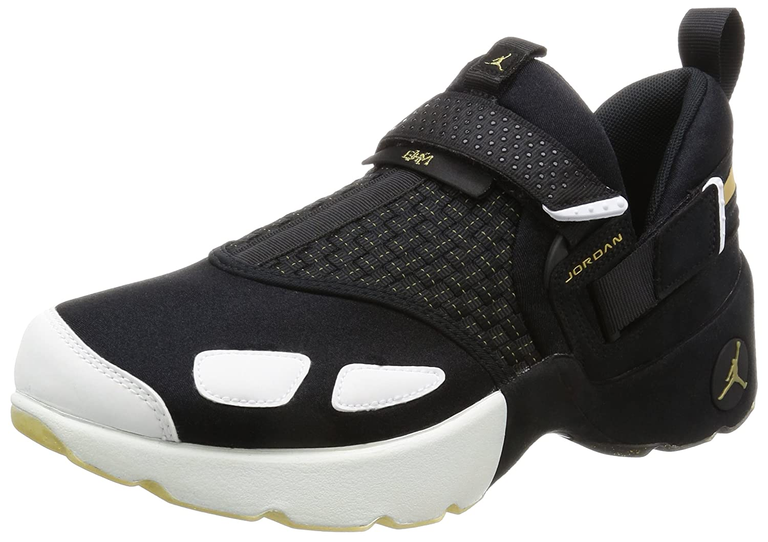 6616e7f96 Amazon.com | Air Jordan Trunner LX Black History Month Men's Shoes Black/Metallic  Gold-White 909408-032 (10.5 D(M) US) | Basketball