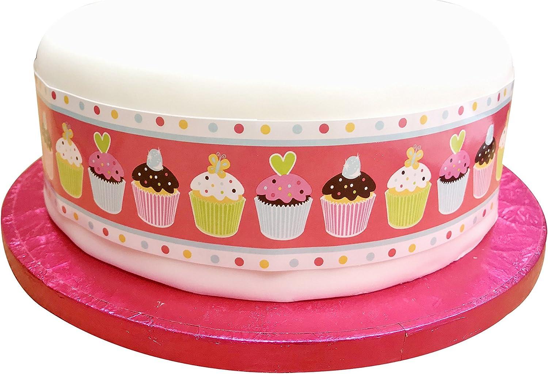 100cm Long X 5cm Wide Sweet Treats Cake Frill