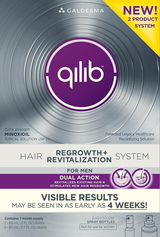 Amazoncom  Qilib Regrowth Plus Revitalization Hair System Men - Onion juice for hair regrowth review
