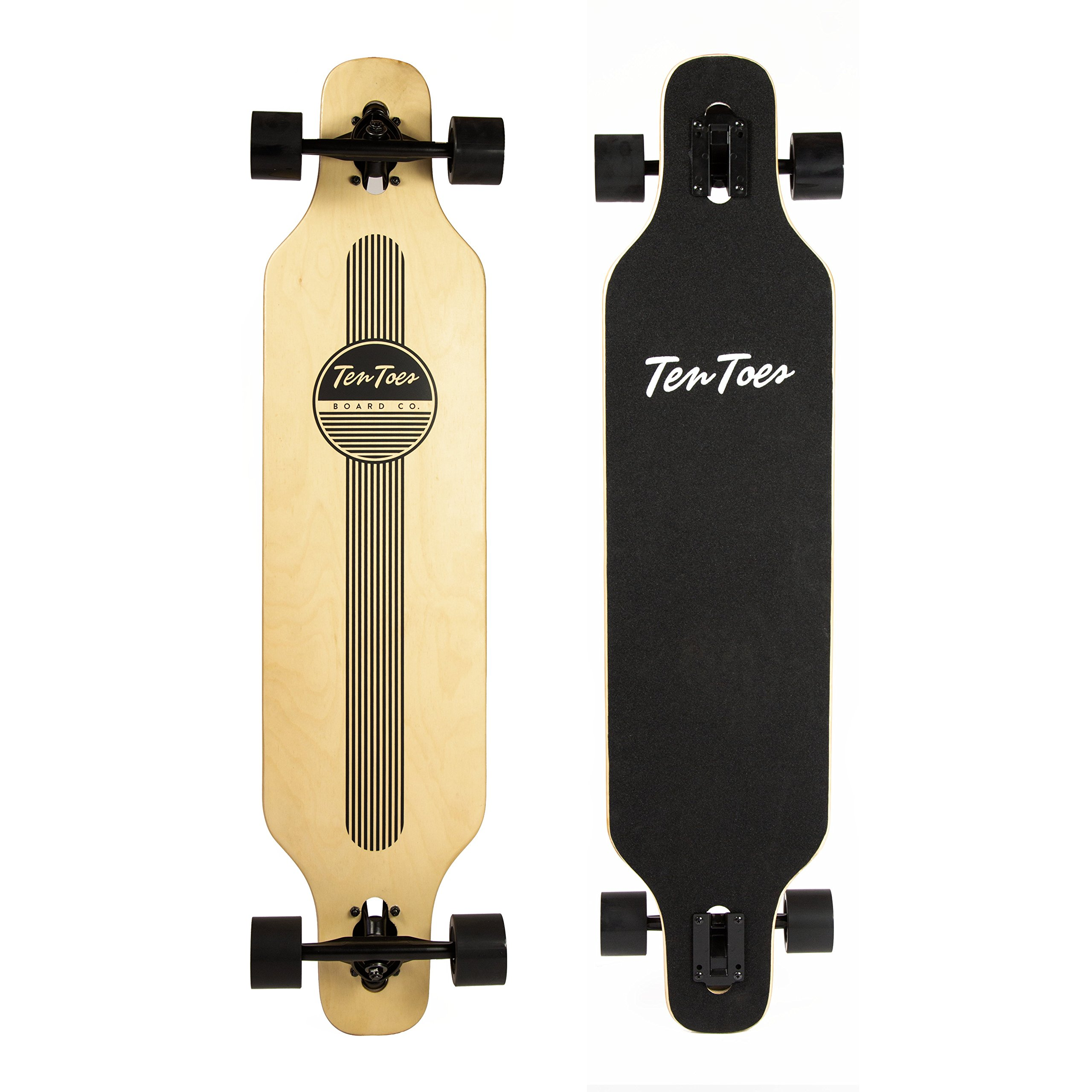 Ten Toes Rift Drop-Through Longboard Skateboard
