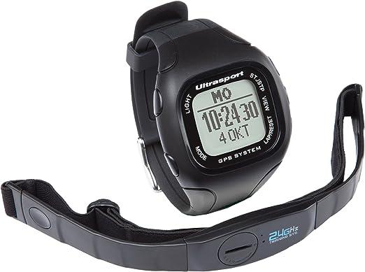 Ultrasport NavRun 500 Reloj con pulsómetro GPS con correa para el ...