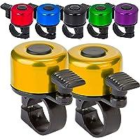 Terra Connect Fietsbel, Fietsbel met luid en knapperig helder geluid voor Road en Mountain Bike Ring Bell, Het is een…