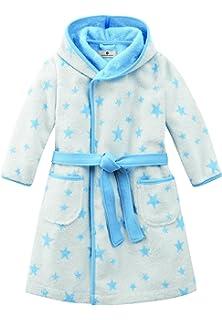 21817ff4bf6d73 Bellybutton Kids Baby - Jungen Bademantel Bademantel mit Gürtel und Sternen  10959-40248