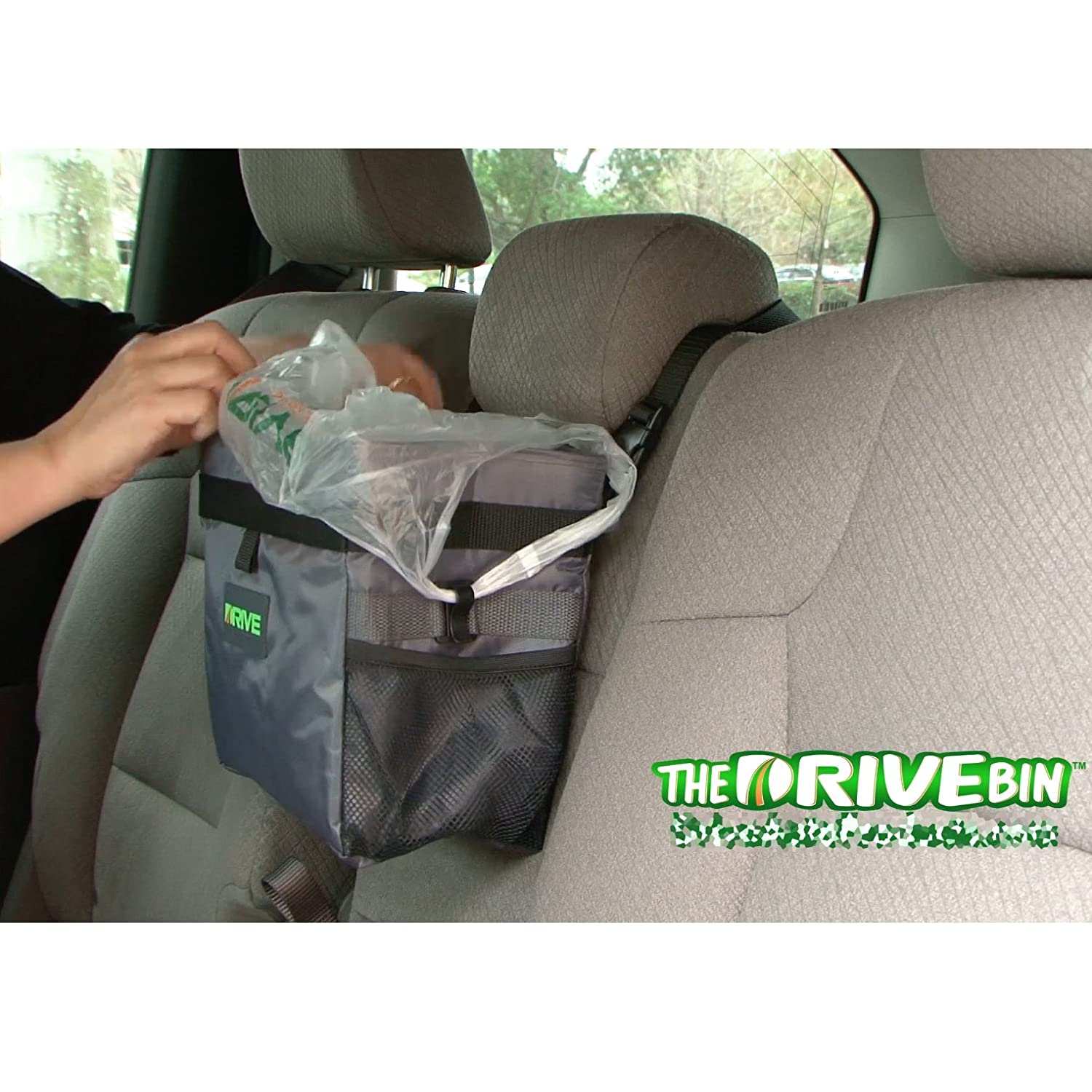 Car Garbage Can - The Drive Bin As Seen On TV Collection by Drive Auto Products 40-Pack Liner Refills
