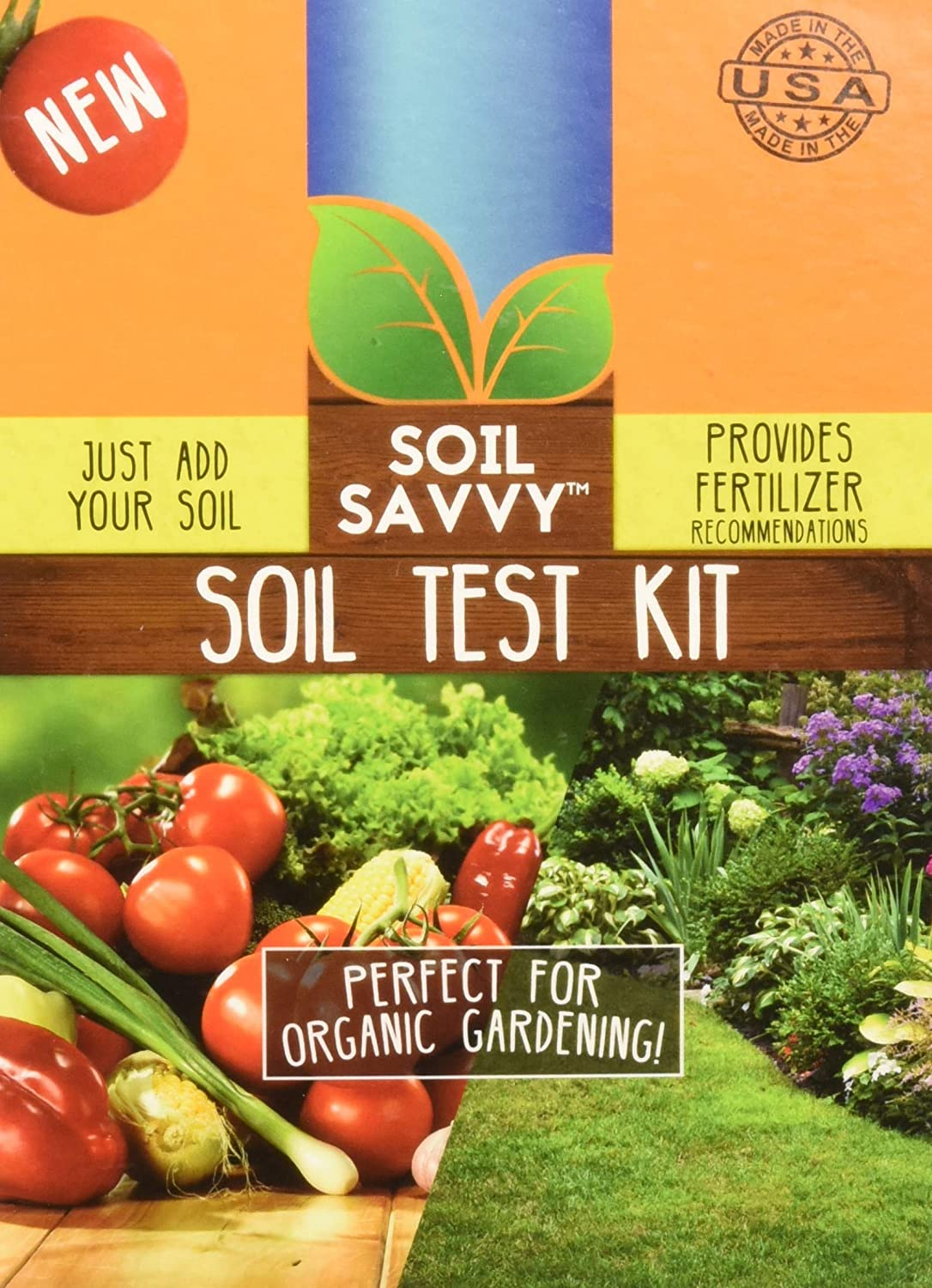 Soil Savvy - Soil Test Kit | Understand What Your Lawn or Garden Soil Needs - Pack of 4