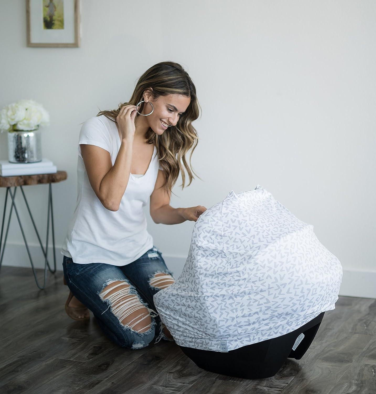 Amazon.com: Funda para asiento de bebé y funda de lactancia ...