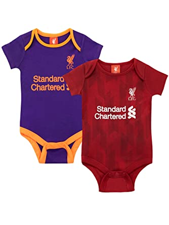 acc56c095 Amazon.com  Liverpool F.C. Baby Boys  Football Club Bodysuit Pack of ...