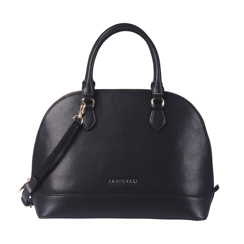 9c665bc0c5eb JADINVALI Women s Vintage Shoulder Handbag Top Handle Bag Large Capacity  Tote Work Satchel Domed Cross Body Designer Ladies Purse Shell Structured  Bags