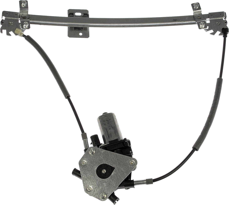 Dorman 741-364 Front Driver Side Replacement Power Window Regulator with Motor for Volkswagen Golf//Jetta