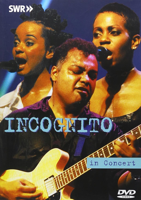 Incognito Live In Concert Dvd Region 1 Ntsc Amazon Co Uk Incognito Dvd Blu Ray