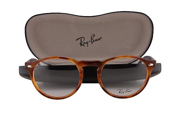 6e6ac765968a4 Amazon.com  Ray Ban RX5283 Eyeglasses 51-21-145 Yellow Tortoise 5609 RX 5283   Clothing