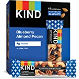 KIND Bars, Blueberry Pecan, Gluten Free, Low Sugar, 1.4oz, 12 Count