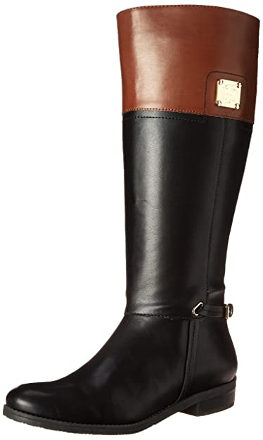 dd9ba8710e96 Tommy Hilfiger Women s Xenon2 Black Tan Boot ...