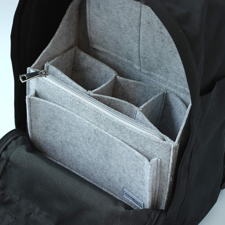 Classic Slash Mochila Carpeta Organizador/ Gris Claro Small /Gris Claro