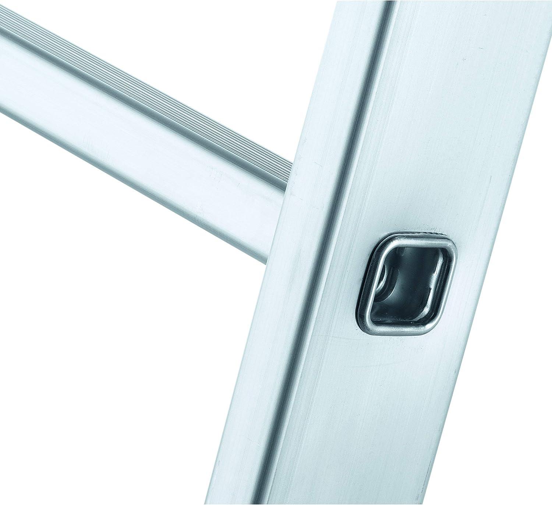 Zarges Z500 – Escalera extensible (aluminio 2 x 8 peldaños Z600: Amazon.es: Bricolaje y herramientas