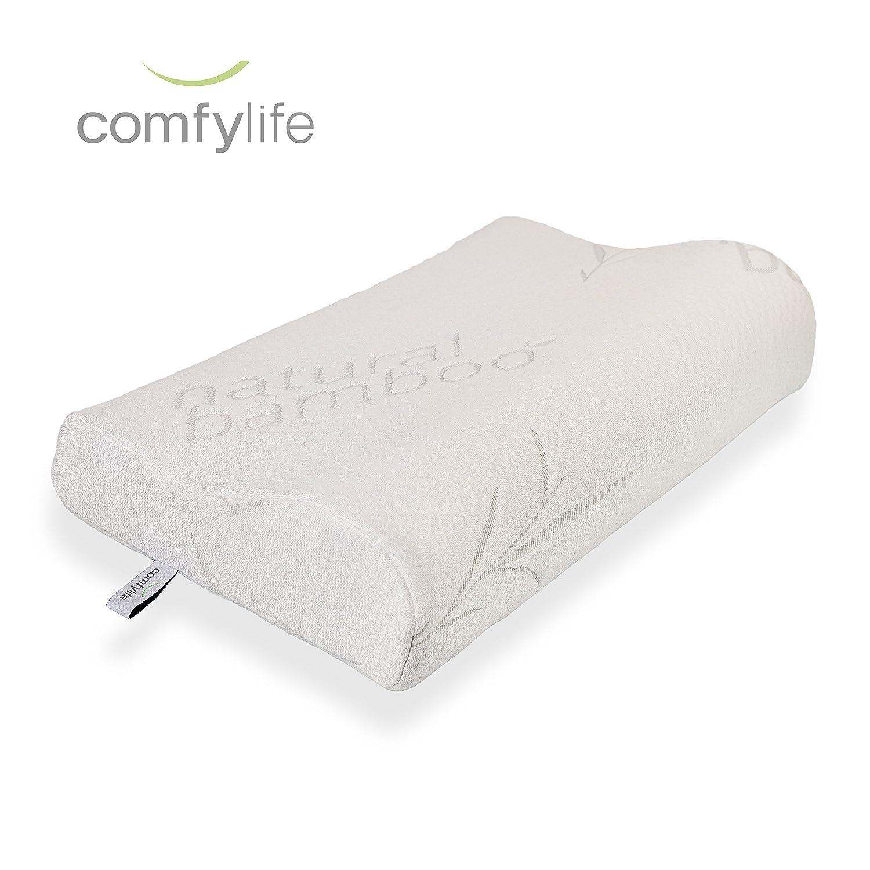 Hypoallergenic Bamboo Memory Foam Contour Pillow