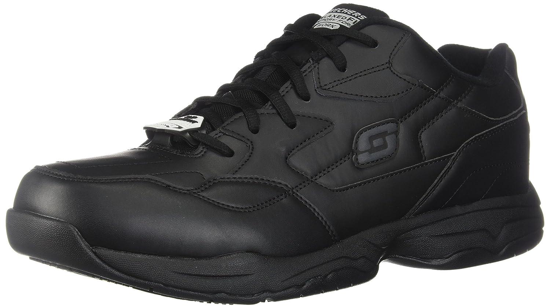 Amazon.com: Skechers for Work Men's Felton Slip Resistant Relaxed-Fit Work  Shoe: Shoes