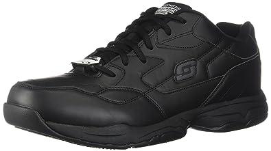 Skechers for Work Men's Felton Shoe, Black, ...