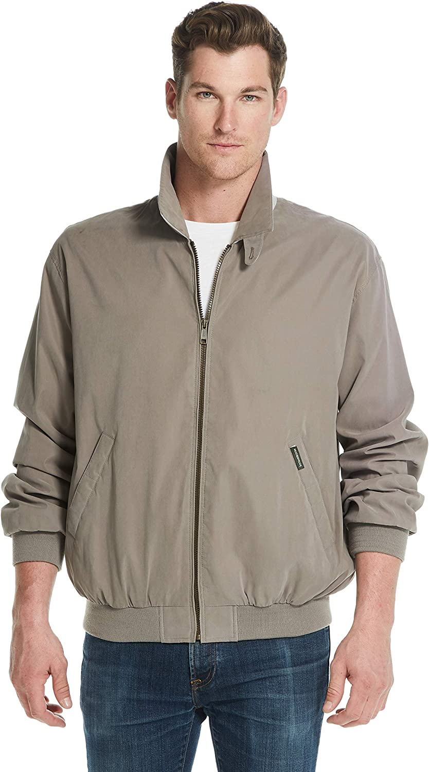 Weatherproof Garment Co. Mens Microfiber Classic Jacket at  Men's Clothing store
