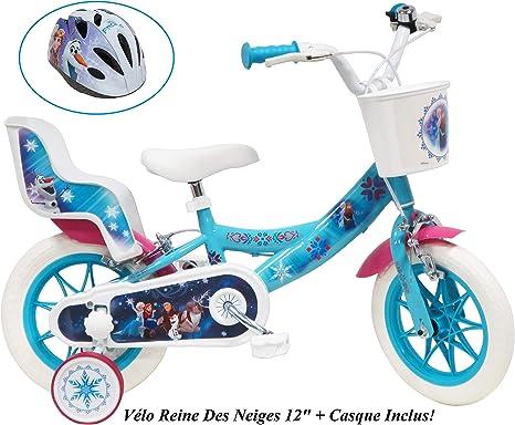 Disney / Frozen / Reine des Neige - Bicicleta de 12 pulgadas para ...
