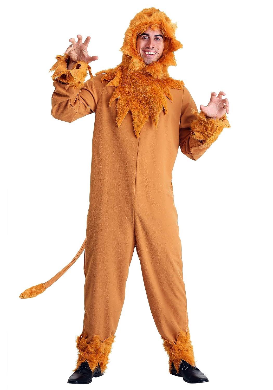 Plus Größe Lion  Herren Fancy dress costume 6X