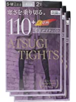 (アツギ)ATSUGI タイツ ATSUGI TIGHTS (アツギタイツ) 110デニール 〈2足組3セット〉
