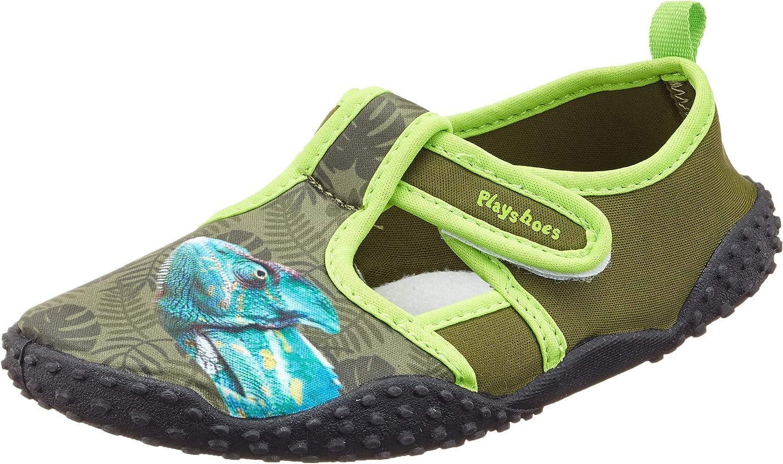 Playshoes Unisex-Kinder Uv-Schutz Badeschuhe Cham/äleon Aqua Schuhe