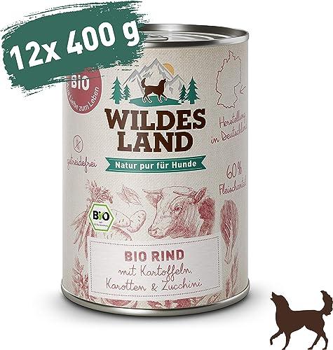 Wildes-Land-Bio-Nassfutter-für-Hunde