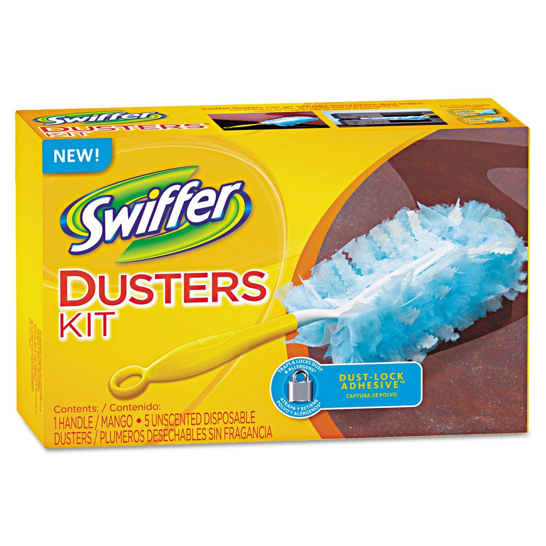 Swiffer PGC 40509 Duster Starter Kit, 6'' Handle (Pack of 6)