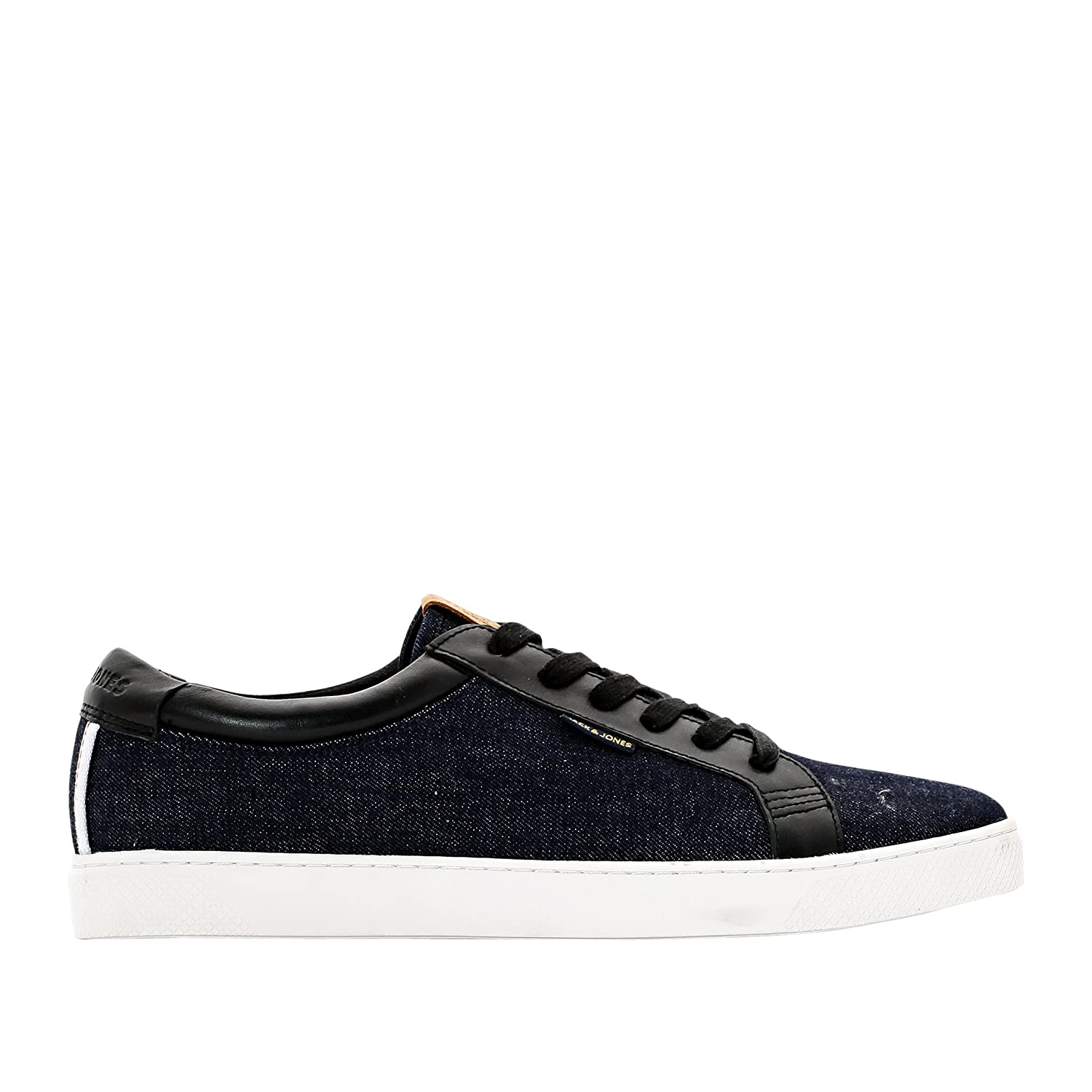 Jack & Jones Mann , Flache Turnschuhe Jj Sable , Mann Canvas Gre 44 Blau db653a