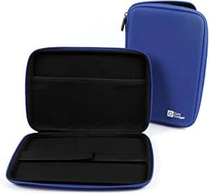 DURAGADGET Blue Rigid Protective Zip Armoured Case with Soft Inner Lining & Netted Pocket for Acer Iconia A1-810-L416 7.9-Inch 16 GB Tablet