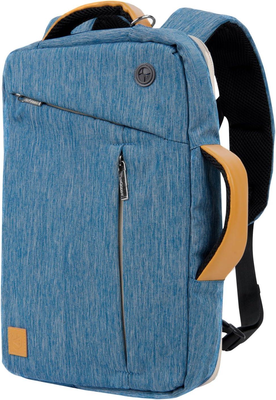 Vangoddy Slate 3 in 1 Hybrid Universal Laptop Carrying Bag, Size 11 inch, Cerulean Blue