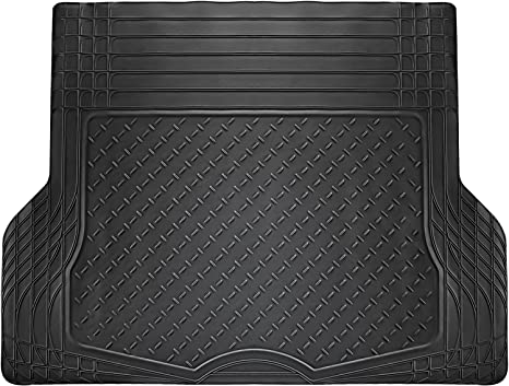 All Weather Universal Rear Back Row Heavy Duty Rubber Runner Floor Mat for Cars