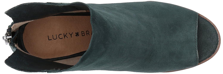 Lucky Brand Women's Urbi Pump B01N2W8V62 8 B(M) US|Dark Cyan