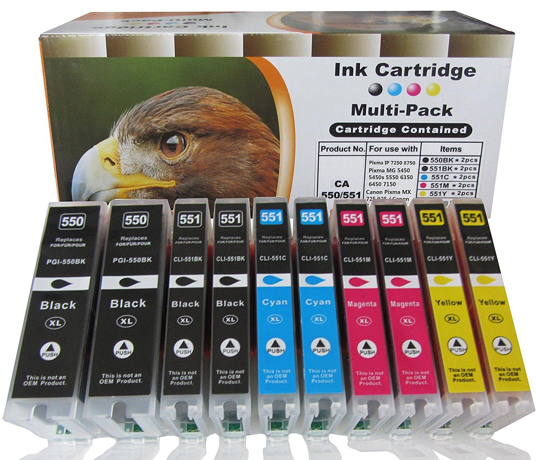 ESMOnline Cartuchos de tinta compatibles XL unidades para Canon Pixma MG s