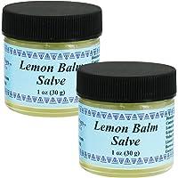 WiseWays Herbal Natural Skin Care Lemon Balm Salve, 1 Ounce, 2 Pack