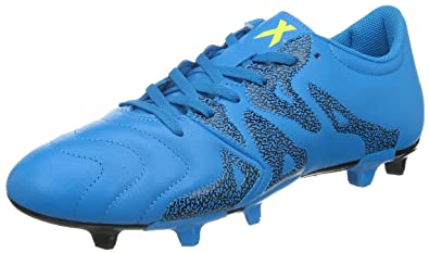 timeless design a13e6 a20a8 adidas X 15.3 FG AG Leather Mens Soccer Cleats, Size 8.5 Blue