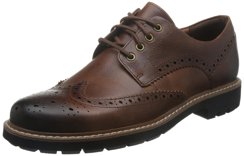 TALLA 41 EU. Clarks Batcombe Wing, Zapatos de Cordones Derby para Hombre