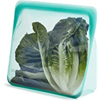 Stasher Stand Up Bag Mega, siliconen voedseltas, reistas en voedselopslag, herbruikbare siliconen voedselopbergtas, Aqua…