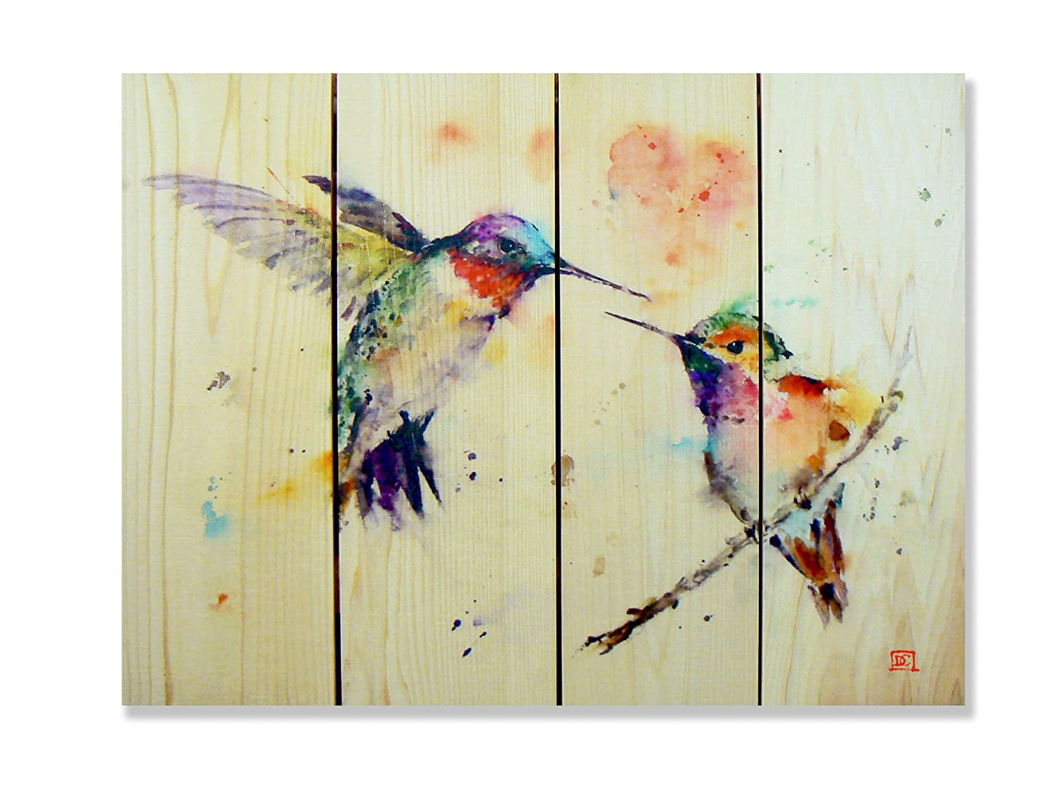 Amazon.com : Gizaun Art Signature Series No.1 Love Bird Inside ...