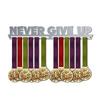 Victory - Colgador de medallas para Colgar medallas o medallas, Elegante, para Deportes, decoración del hogar, decoración de Pared, 100% de Acero Inoxidable