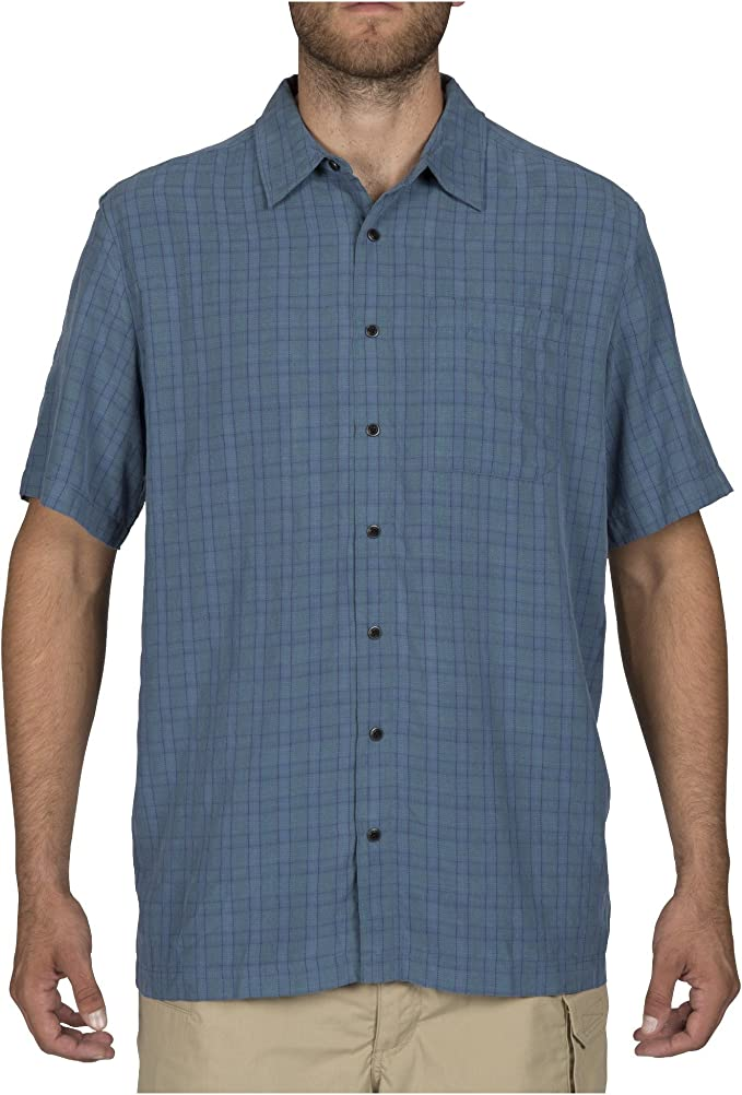 Style 71374 5.11 Tactical Mens Poly-Cotton Hunter Plaid Short Sleeve Shirt